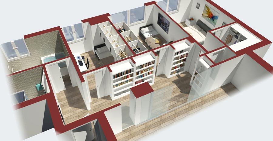 Foto progettazione d 39 interni di arch studio di arch for Progettazione esterni