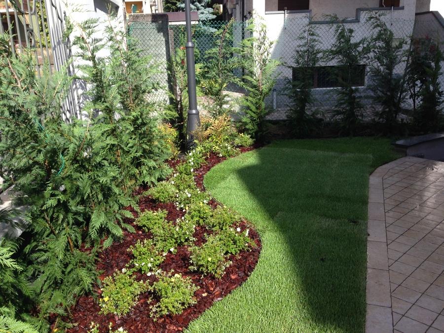 foto progettazione e realizzazione giardini e terrazzi di