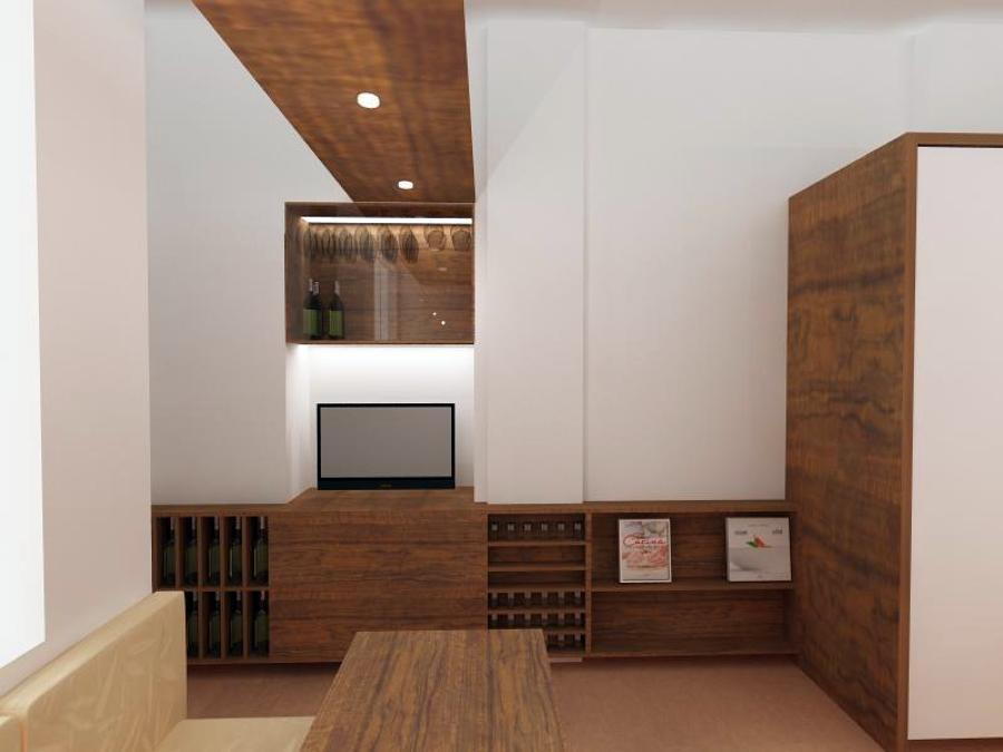 Foto progettazione parete attrezzata cucina di matteo for Immagini parete attrezzata