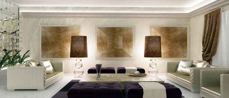 Foto: Progettazione Soggiorno Villa Africa di Matteo Dal Sasso Interior Designer #97125 ...