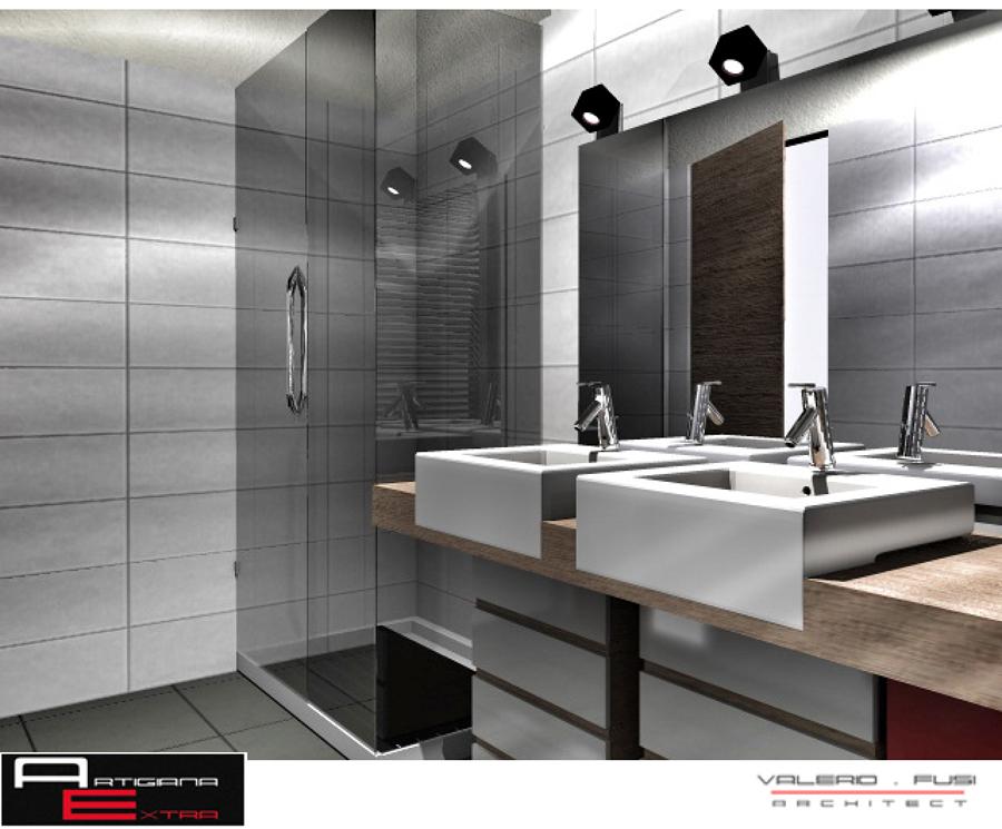 Foto progetto bagno di artigiana extra srl 56793 - Progetto bagno paderno ...