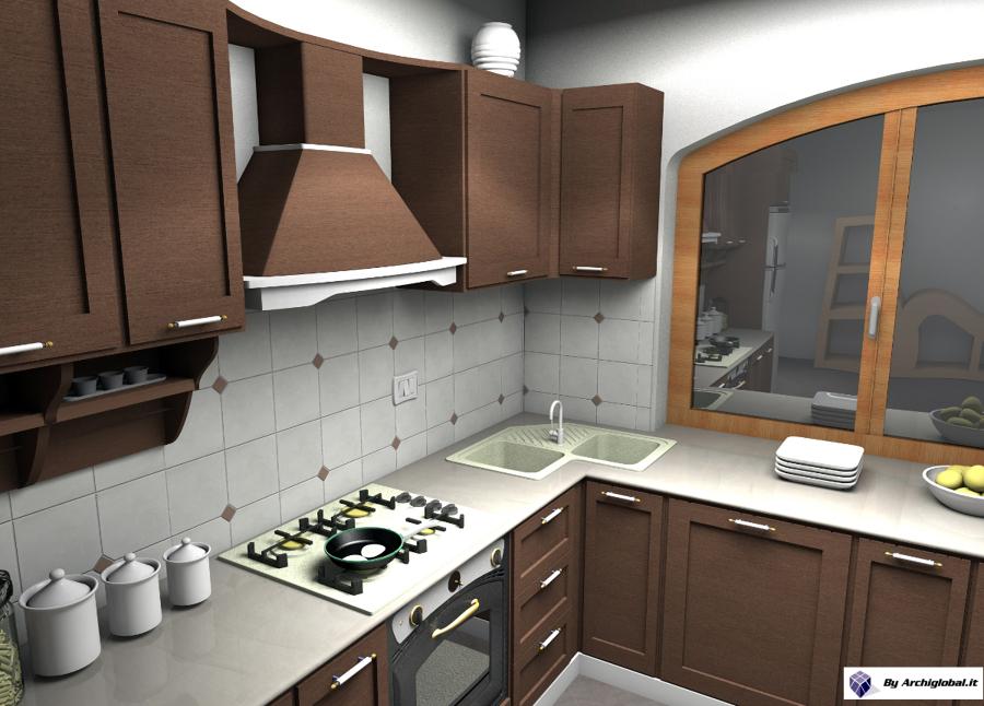 Progetto cucina in località Brolo