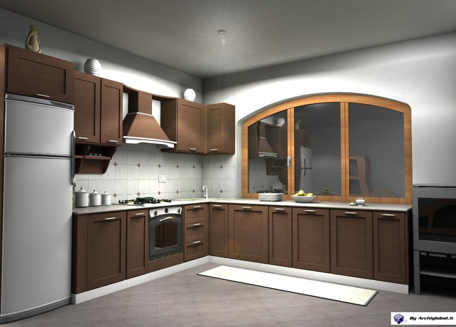 Progetto cucina località Brolo