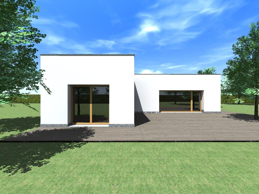 Foto progetto di casa unifamiliare di andrea braga - Progetto completo casa unifamiliare ...