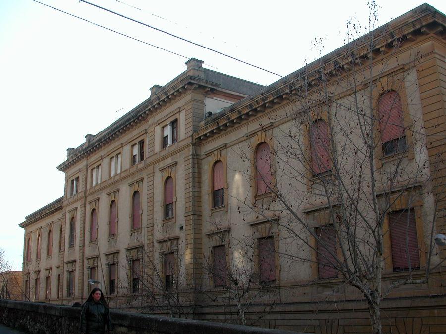progetto di riqualificazione ex palazzo delle poste Caltanissetta