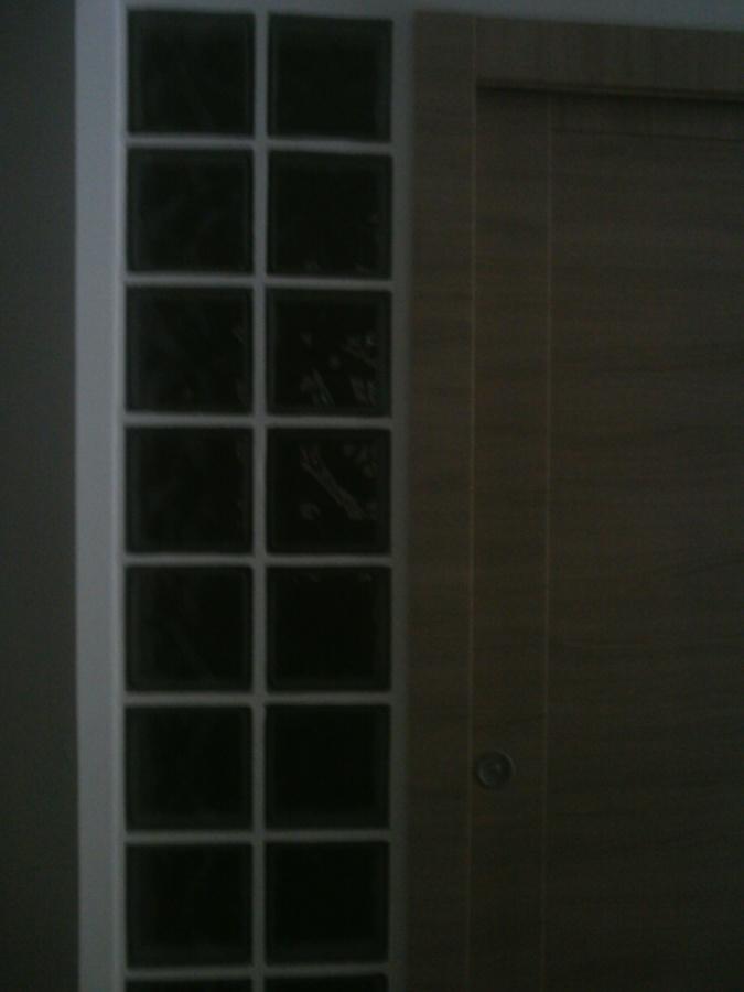 Parete vetro mattoni
