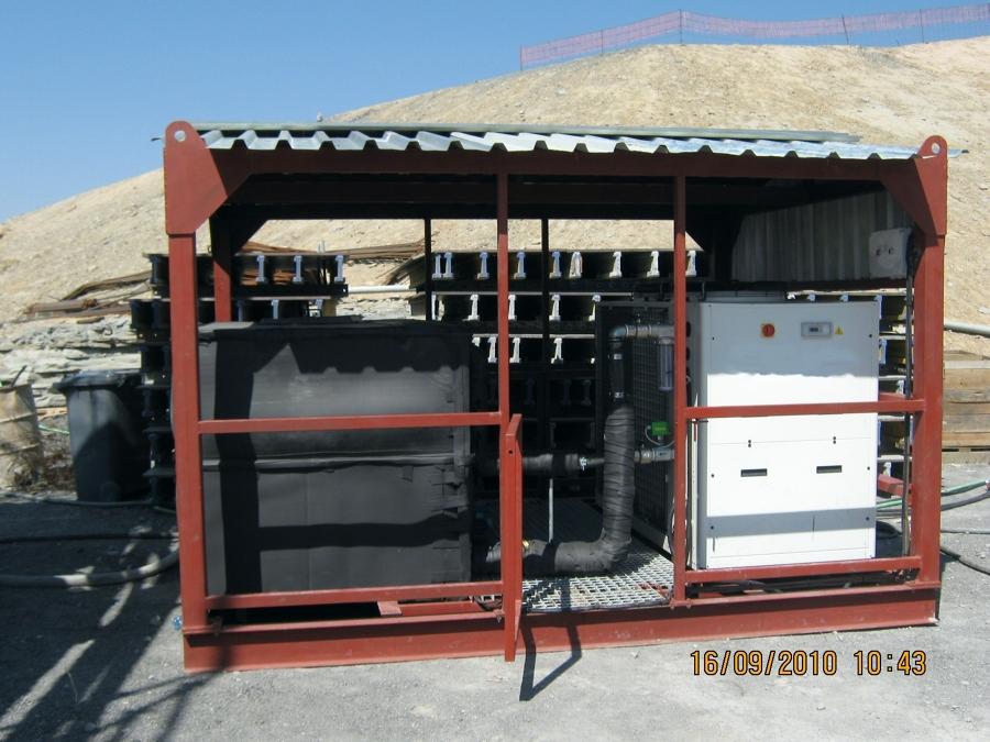 Raffreddamento acqua cantieri Sud Africa