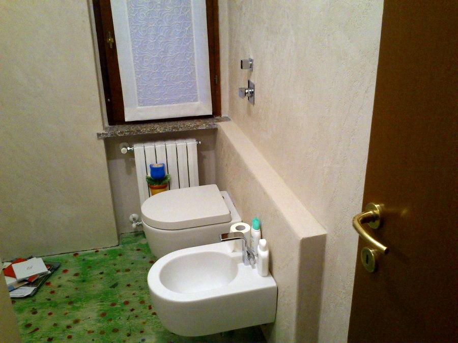 Foto rasatura pareti con successivo effetto pierta for Effetto spugnato pareti foto