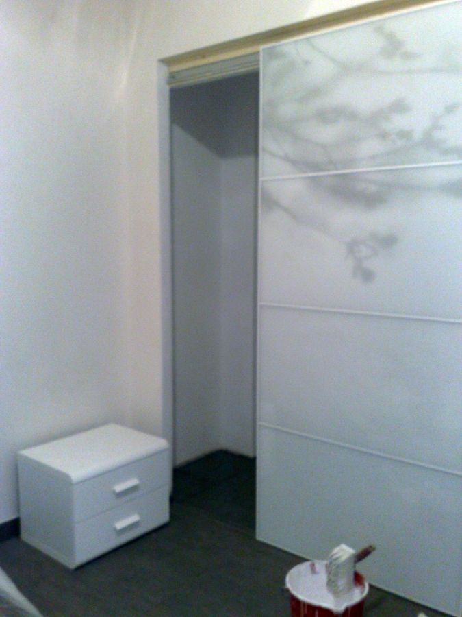 Foto realizzazione armadio a muro con porte scorrevoli 1 - Porte per armadio a muro ...