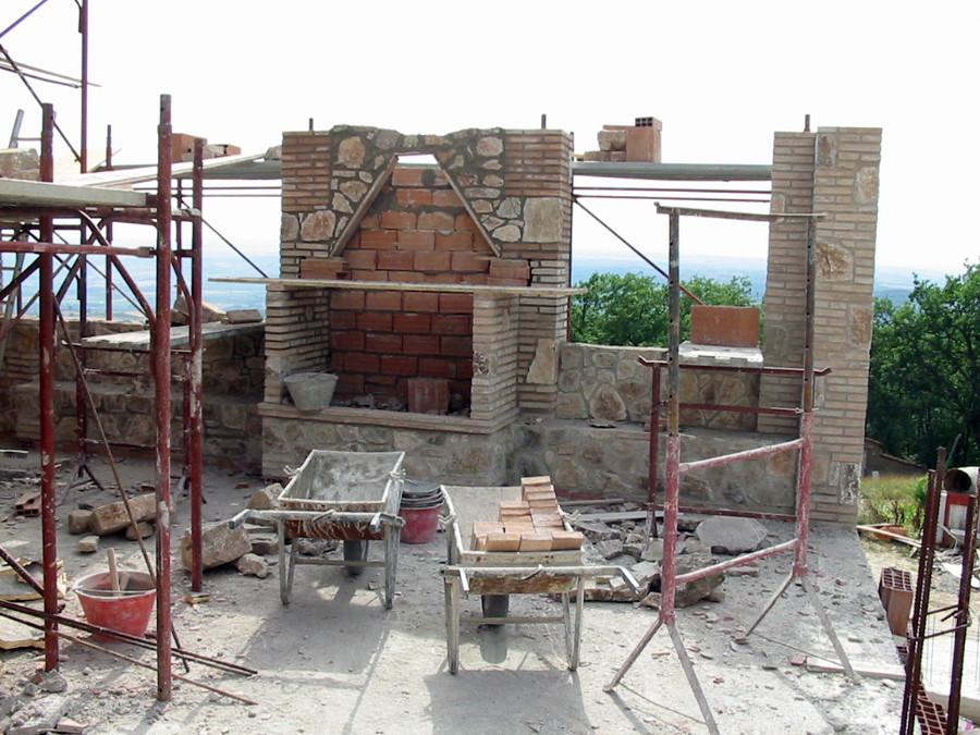 Costruire camino esterno the world s catalog of ideas for Come costruire un camino di adobe