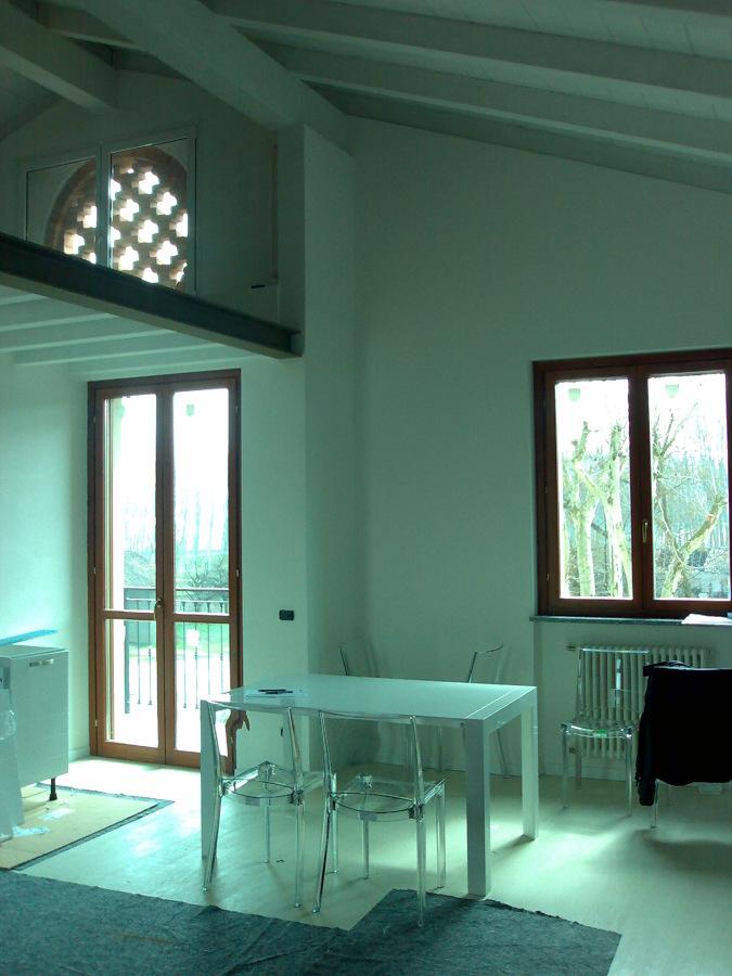 Foto realizzazione di appartamento ex novo progetto for Progetto appartamento moderno