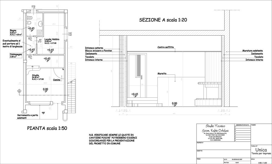 Realizzazione uffici in capannone esistente