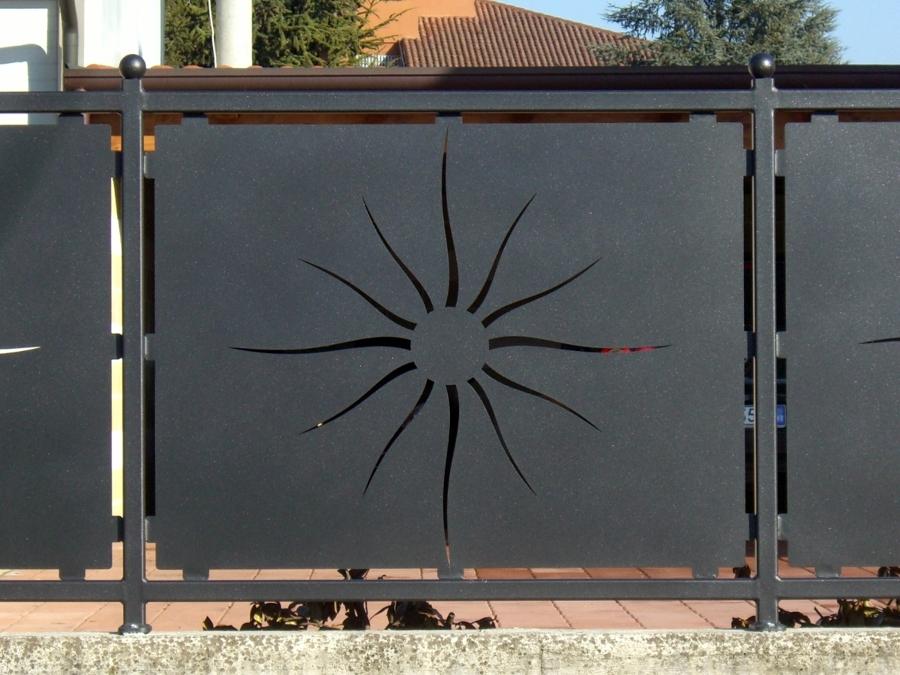 Foto recinzione laser di metalpoint 92280 habitissimo for Immagini recinzioni