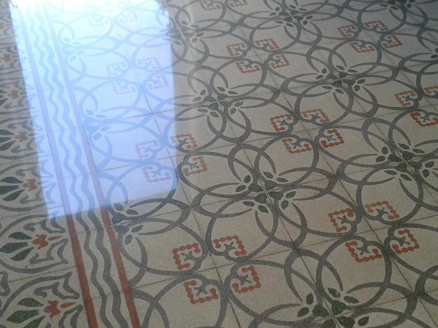 Foto recupero pavimento in graniglia di cemento di - Piastrelle in graniglia di cemento ...