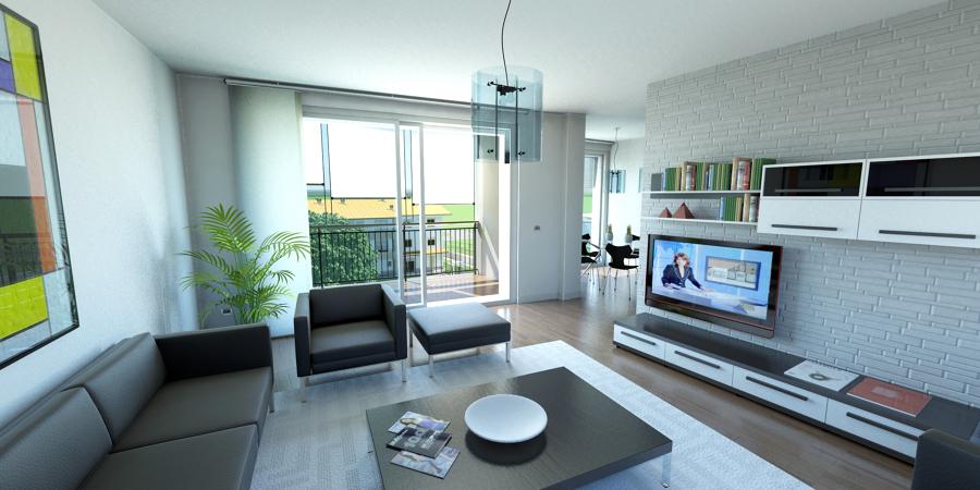 Foto interior design nuovi appartamenti di joinmi for Interior design appartamenti