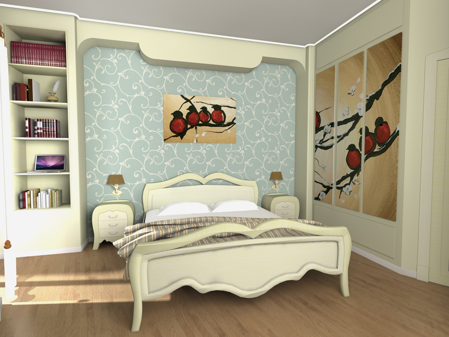 rendering letto