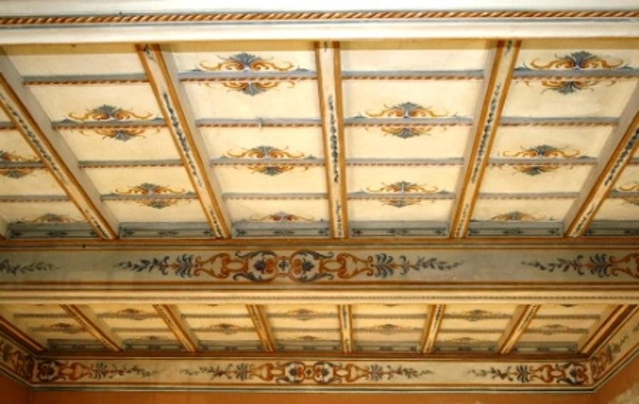 Soffitti antichi decorati ~ decorare la tua casa