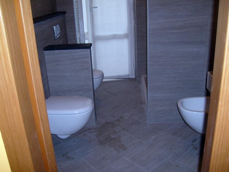 Foto ricostruzione di nuovo bagno di impresa edile f p r for Bagno nuovo