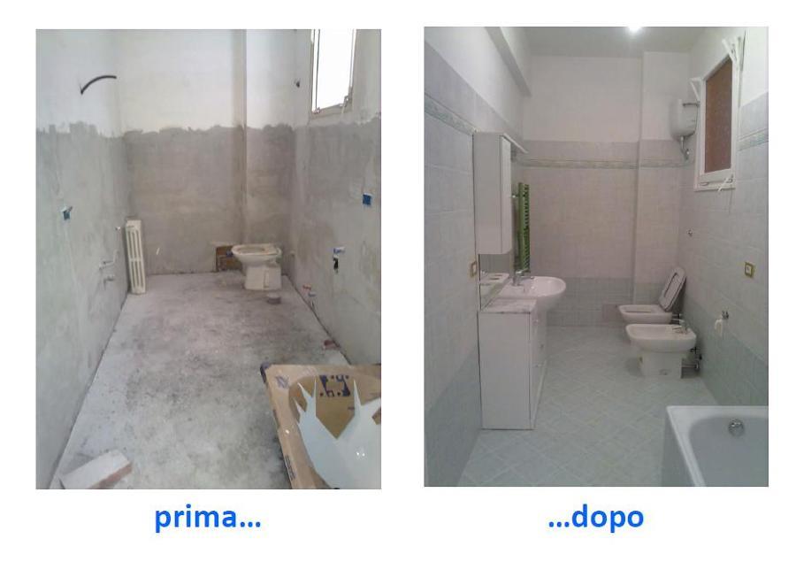Foto rifacimento bagno di impresa edile fazzari salvatore for Rifacimento bagno costi
