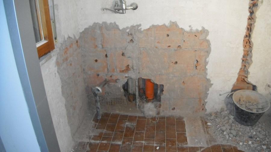 Rifacimento impiantistica cucina e rivestimenti