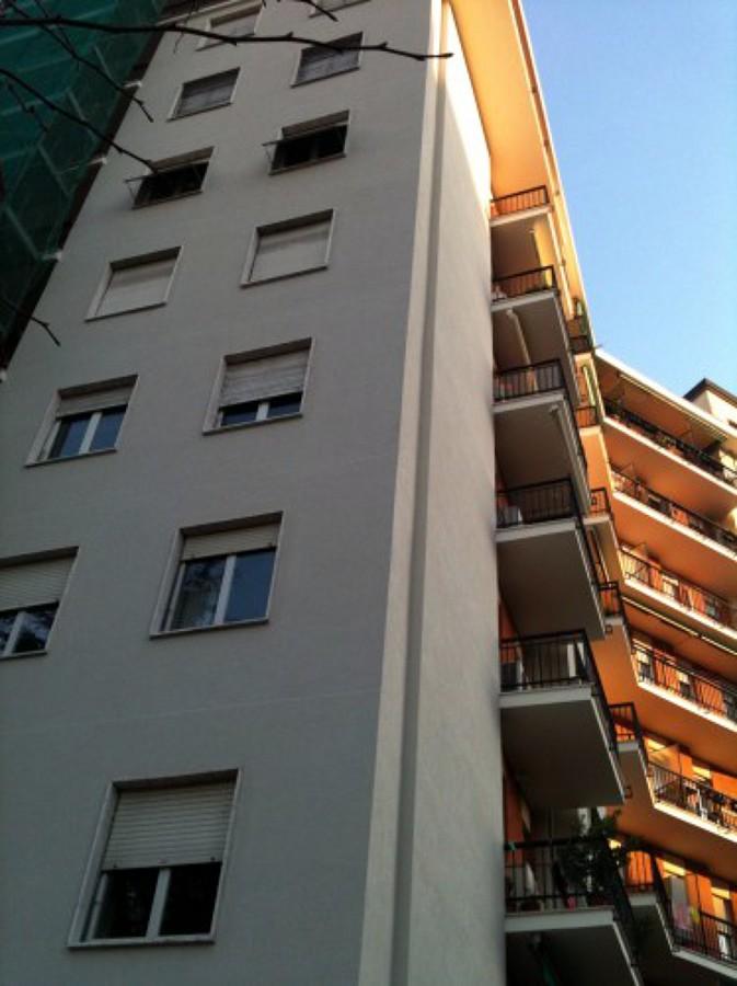 Rifacimento intonaco, Via Zurigo - Milano