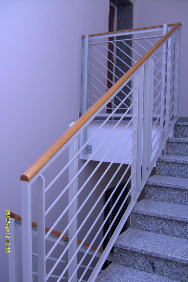 Ringhiere scale da interno