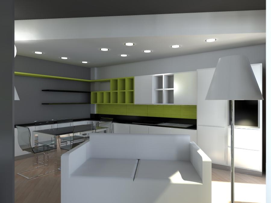 Foto ristrutturazione ambiente e studio dell 39 arredo di for Studio arredo