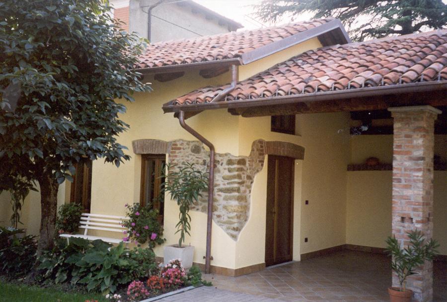 Ristrutturazione casa a Castagneto Po