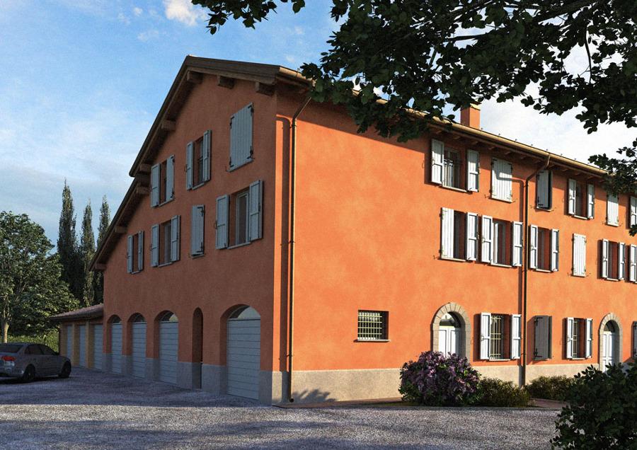 Ristrutturazione con ampliamento di edificio per civile abitazione.