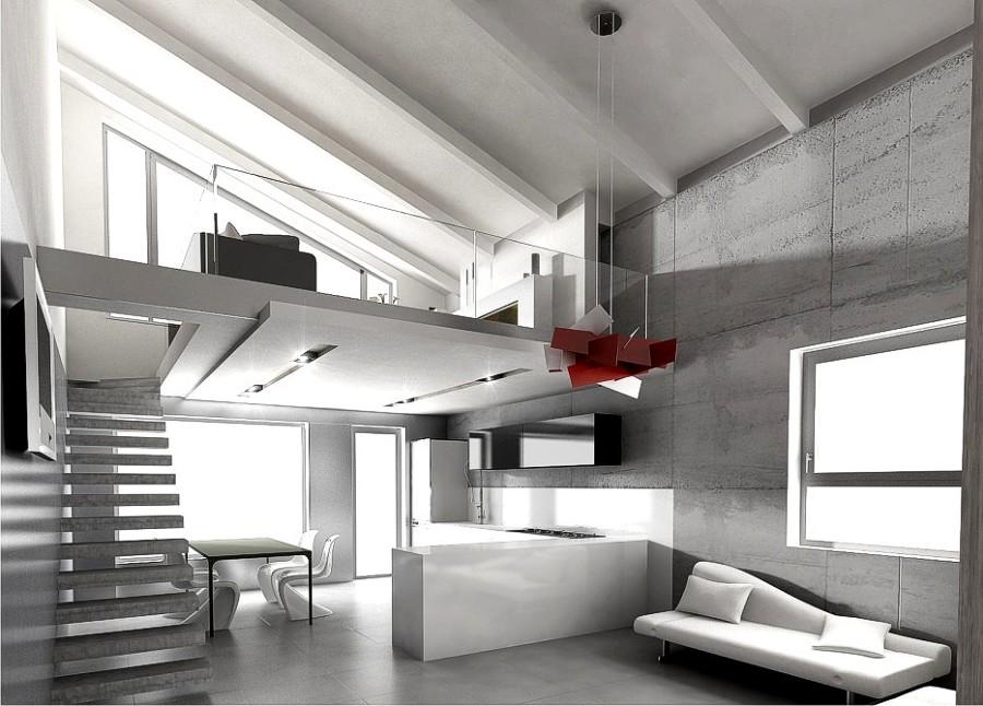 Foto ristrutturazione di un interno contemporaneo de - Architetti d interni torino ...