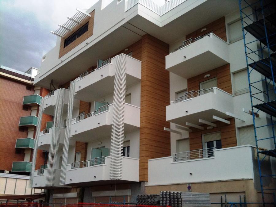 ristrutturazione facciata esterna hotels - riccione - rn