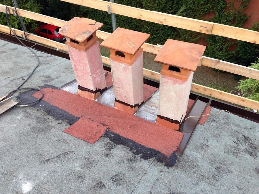 Foto ristrutturazione tetto de padova ristrutturazioni by for Stili tetto tetto