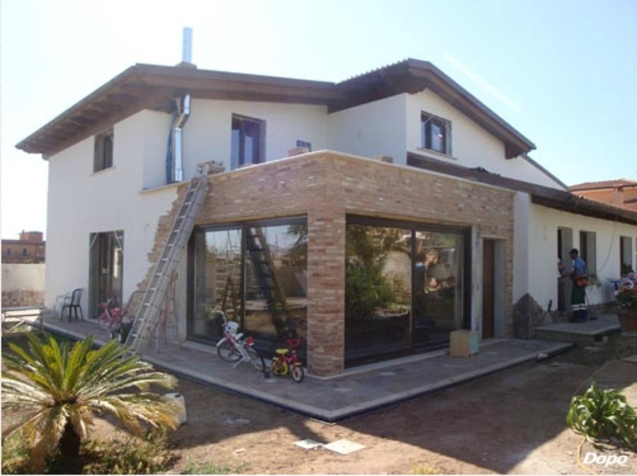 Foto ristrutturazione villa a carsoli di edil progget for Esterno ville foto