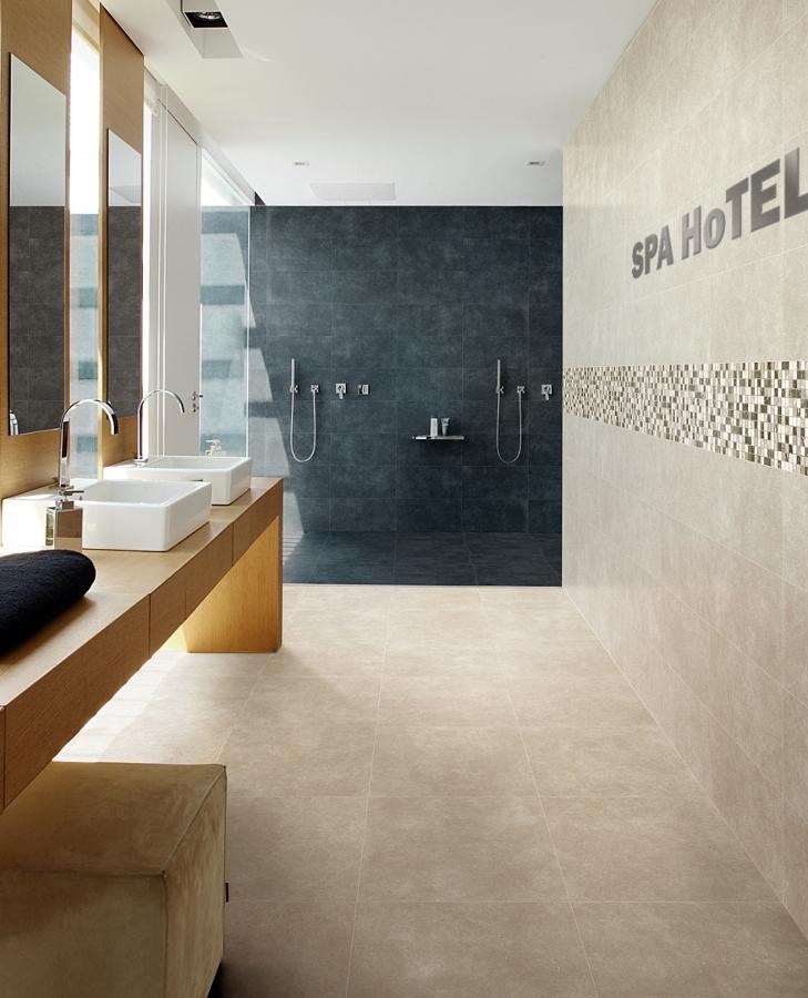 Foto rivestimenti bagno in gres smart town di ceramiche supergres 94841 habitissimo for Foto rivestimenti bagno