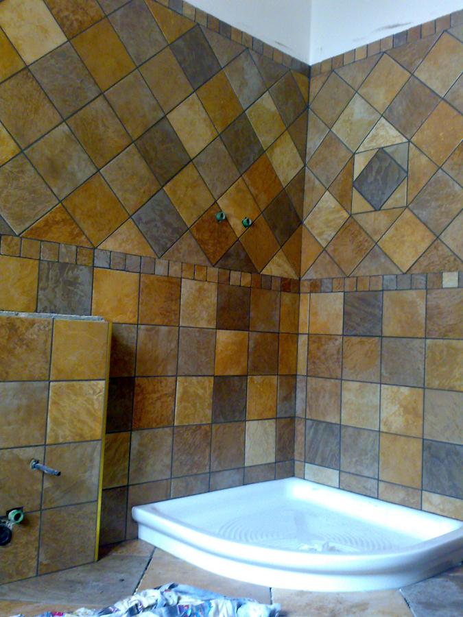 Foto rivestimento bagno in gres de cozzi stefano - Placcaggio bagno idee ...