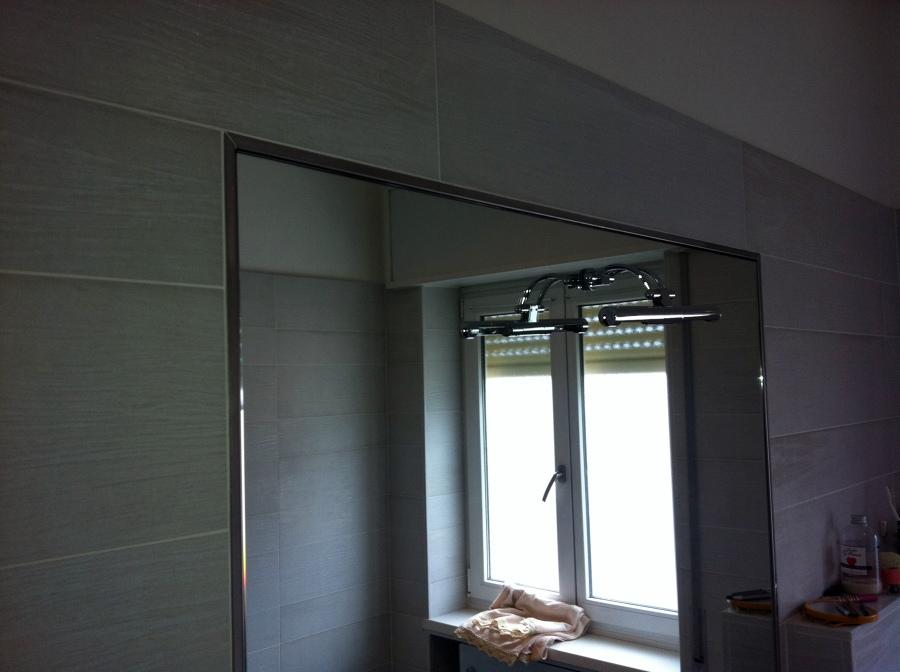 Foto rivestimento con specchio de artigiana extra srl - Specchio bagno incassato ...