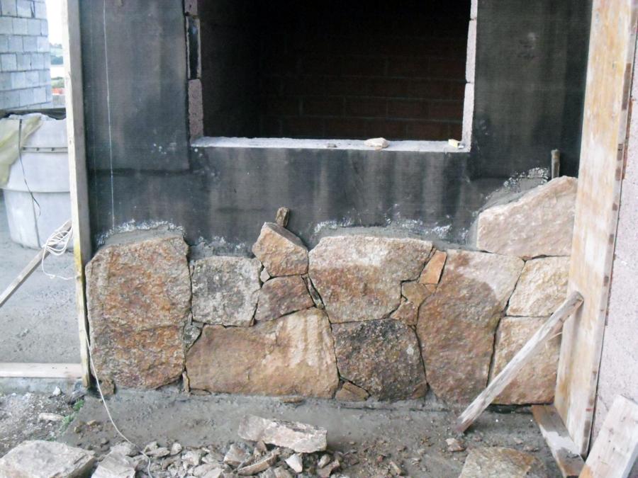 Foto rivestimento in pietra facciata di sanna pietro for Facciate di case in mattoni e pietra