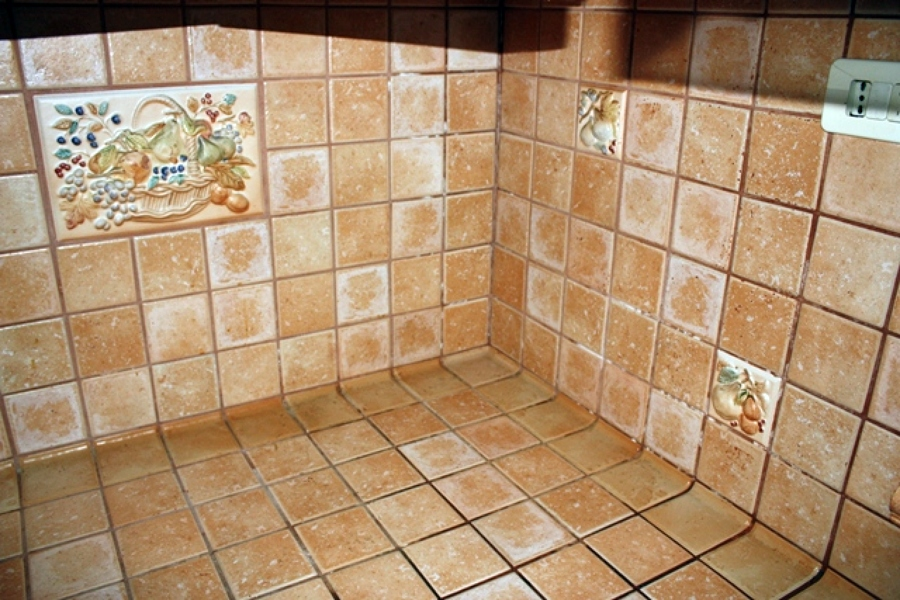 Stunning piastrelle per piano cucina pictures skilifts - Rivestimento cucina in muratura ...