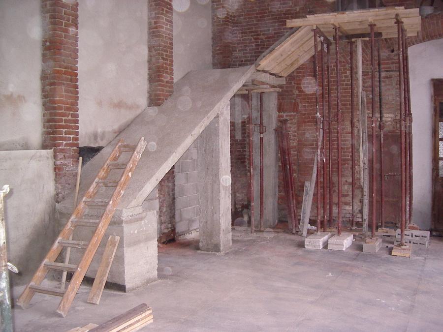 Foto scala in cemento armato e pietra di ediltecnica 191667 habitissimo - Scale in cemento armato ...