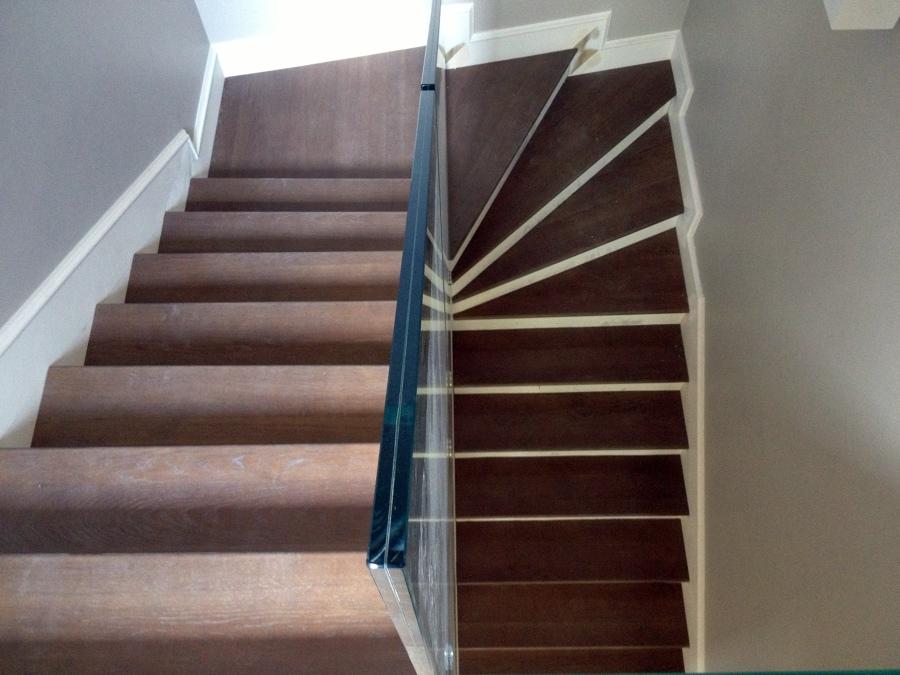Foto scala in legno di sistem parkett 147147 habitissimo - Immagini scale in legno ...