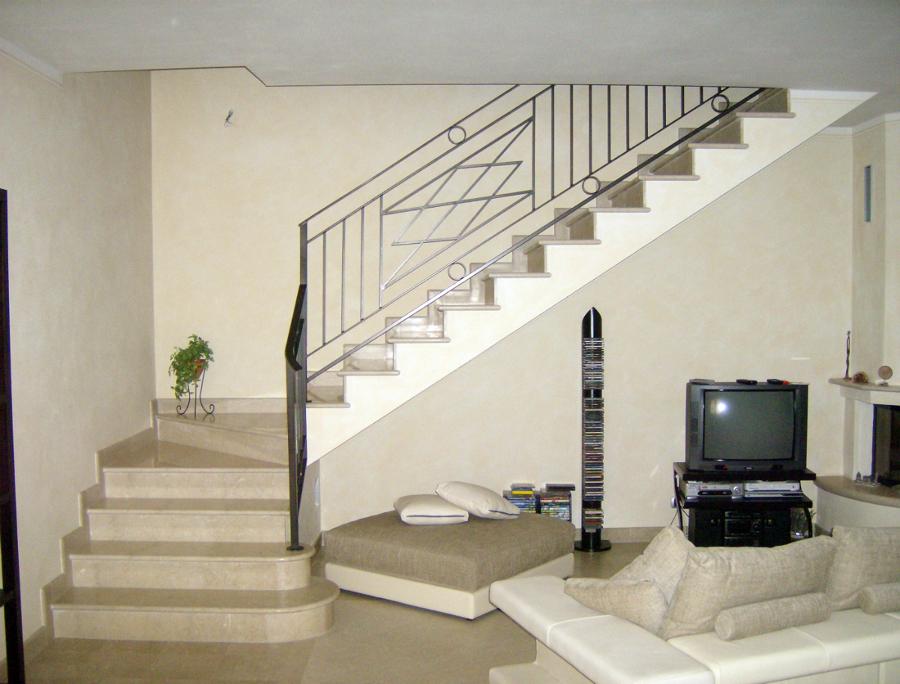 Foto scala in marmo di edilmanfr 44215 habitissimo - Foto di scale ...