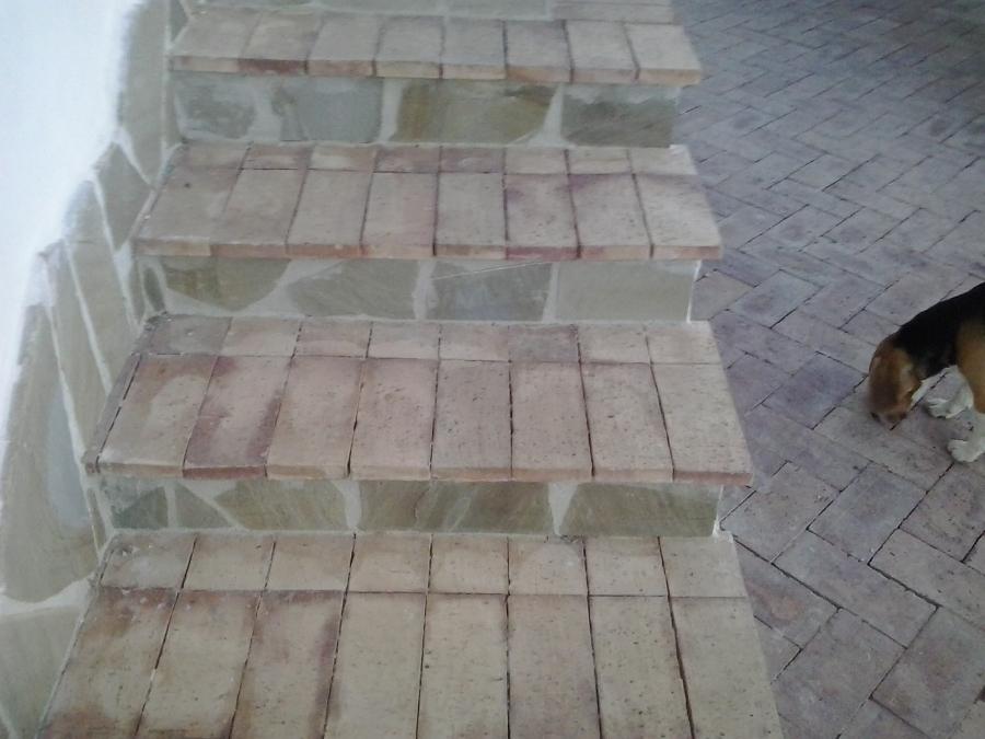 Foto scala in mattoni e pietra di arte casa 230593 for Mattoni e pietra americani