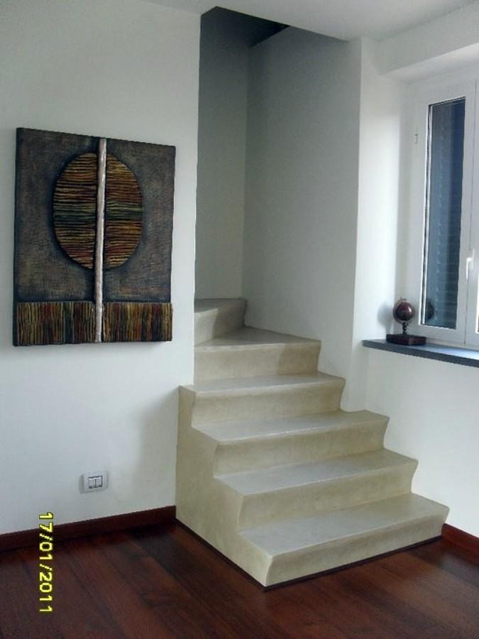 Foto scala in muratura di decori e rivestimenti keloe - Decori per cucine in muratura ...