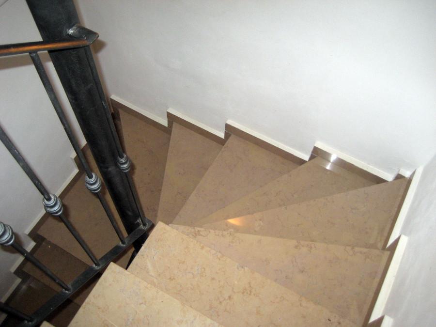scale con gradini a fazzoletto