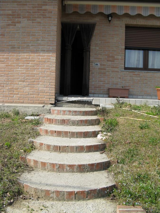 Foto scale da esterno di impresa edile de fazio 58685 habitissimo - Scale da esterno in muratura ...