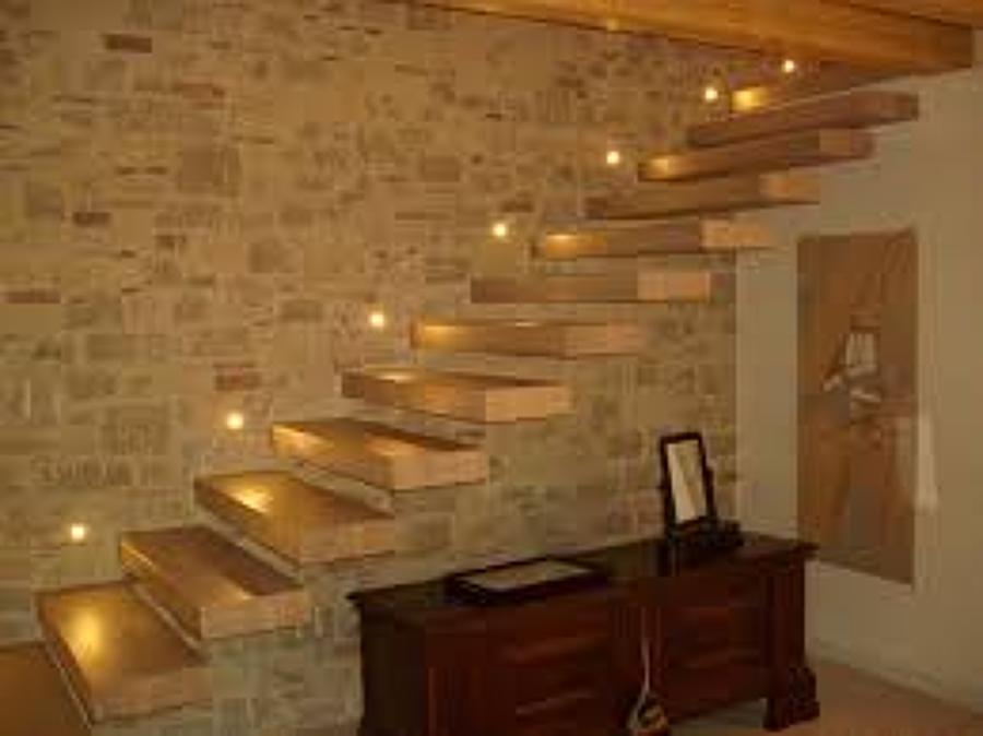 Foto scale in legno moderne e in stile di tellan andrea - Immagini scale in legno ...