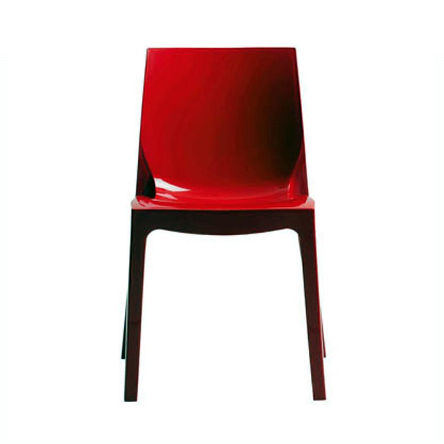 Foto sedia ice rossa de sediedesign 81806 habitissimo for Sedia rossa