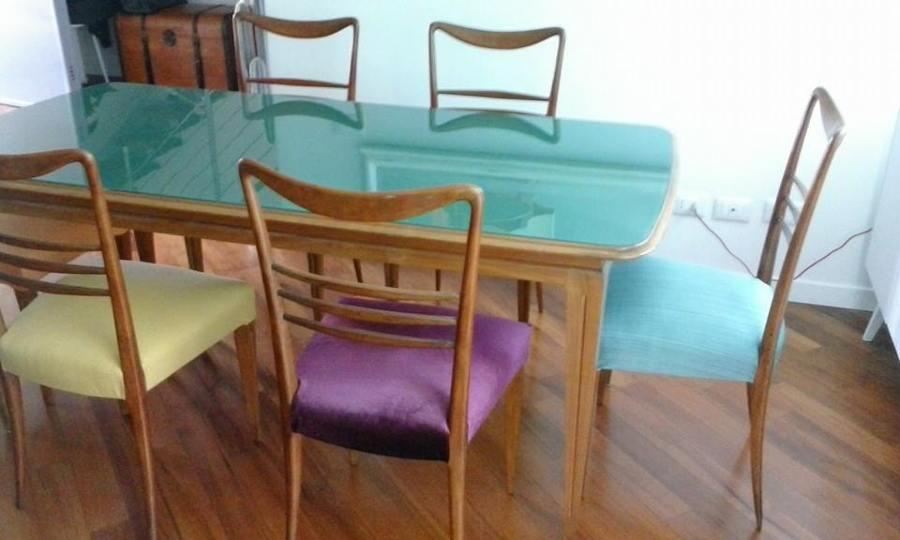 Foto sedie anni 39 50 de tappezzeria f dabbeni e figli s n - Sedie design anni 50 ...