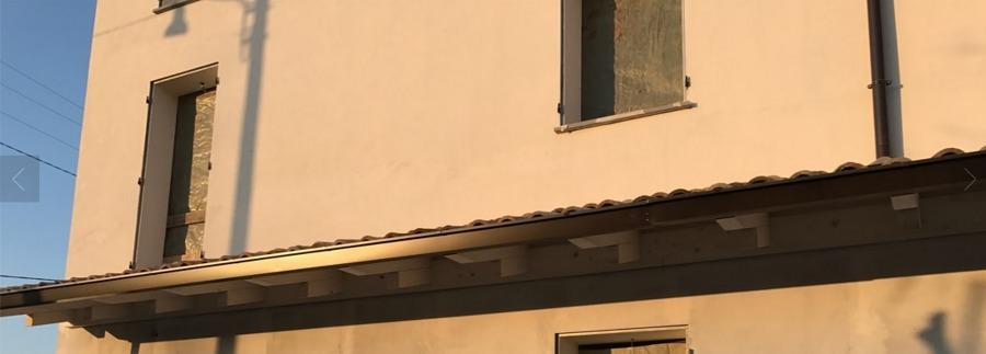 Realizzazione tettoia