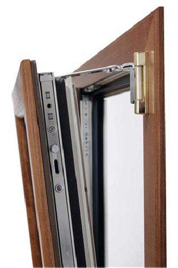 Foto serramenti alluminio legno de finestra system 39 s for Finestre apertura alla francese